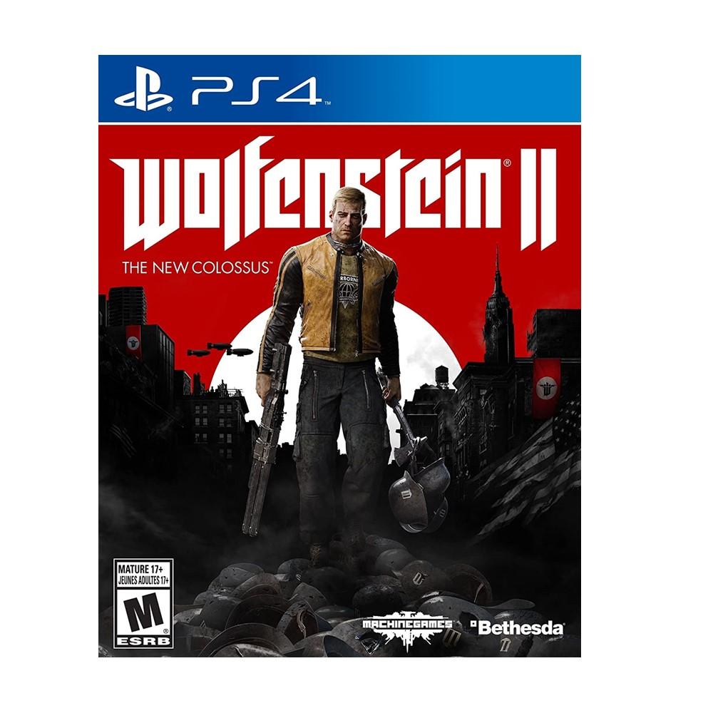 دیسک بازی کارکرده Wolfenstein II: The New Colossus