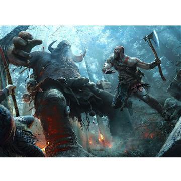 دیسک بازی کارکرده God Of War 4