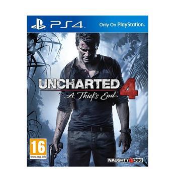 دیسک بازی کارکرده Uncharted 4